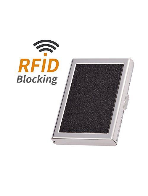 RFID Credit Card Holder Metal Wallets Credit Card Protector Business Card Holder for Women or Men