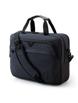Laptop Bag for Women,BAGSMART 15.6 Inch Computer Bag Lockable Briefcase,Pink