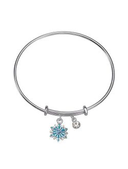 Frozen 2 Snowflake Bracelet