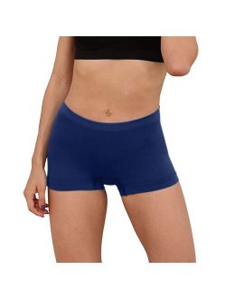Women's Panties Summer Fashion Basic Elastic Comfortable Panties Sexy Solid Breathable Underwear Female Boyshorts Underpants