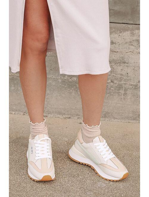 SENSO Eason I Mint Color Block Leather Sneakers