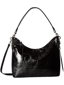 Delilah Women's Leather Hobo Bag