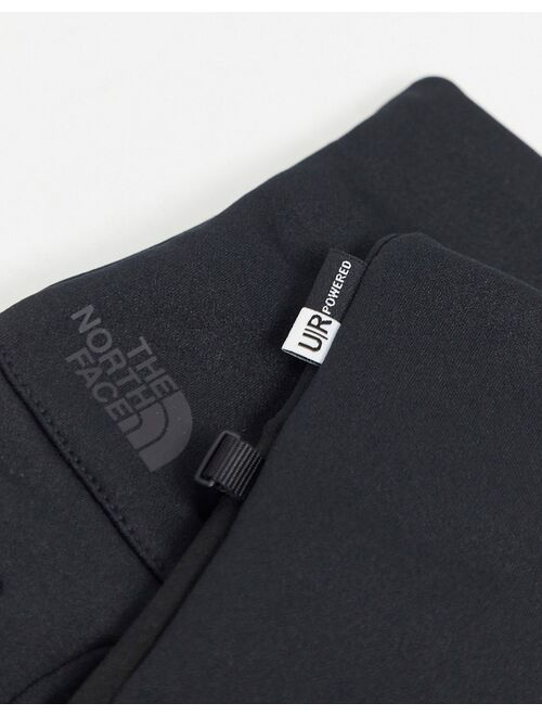 The North Face Etip recycled glove in black