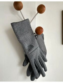 E-tip recycled glove in gray