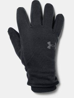 Boy's UA Storm Fleece Gloves