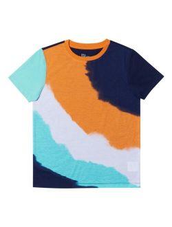 Big Boys Short Sleeve All Over Print T-shirt