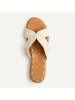 Forbes X J.crew Salon Sandals