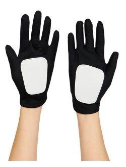 BuySeasons Star Wars Clone Wars Clone Trooper/Obi Wan Little and Big Boys Gloves