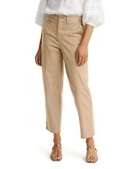 Women's Regular Fit Classic Chino Pant
