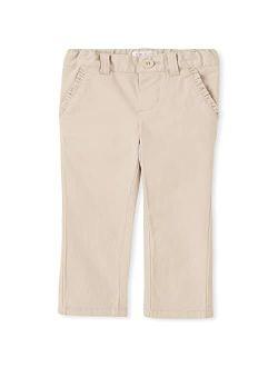 Baby Girls And Toddler Girls Skinny Chino Pants
