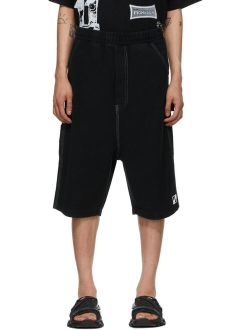 We11done Black Carpenter Shorts