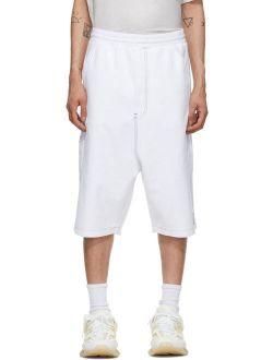 We11done White Carpenter Shorts