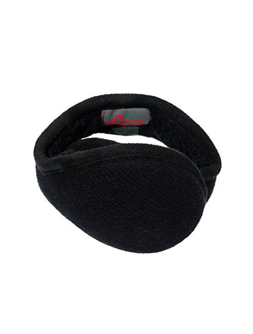 180s Men's American Wool Behind-the-Head Ear Warmer   Premium Winter Earmuffs