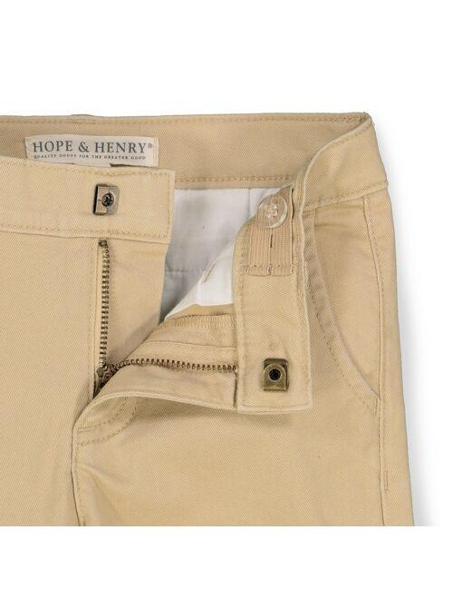 Hope & Henry Boys' Skinny Stretch Twill Chino Pant, Kids