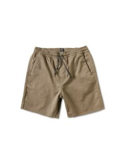 "Boys  15"" Elastic Waist Chino Shorts"