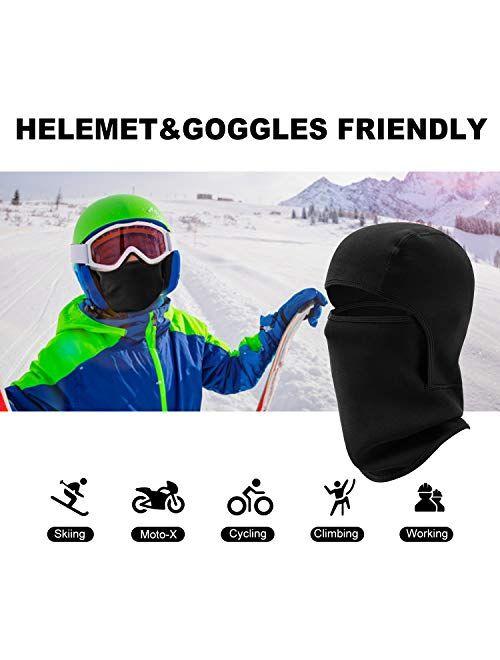 Vorshape Kids Balaclava Windproof Ski Face Warmer Neck Warmer for Cold Weather, 1 Piece, 4 Color