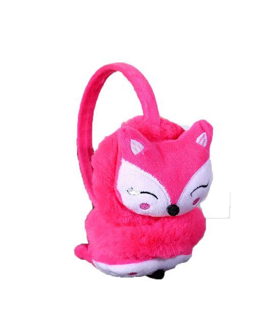 Fashion New Boy Girls Winter Warm Lovely Cute Rabbit Plush Children Earmuffs Thicken Cover Ears Kids Ear Muff Winter Accessories