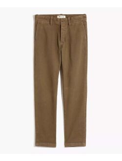 Tan Heavy Twill Slim Chino Pants - Men