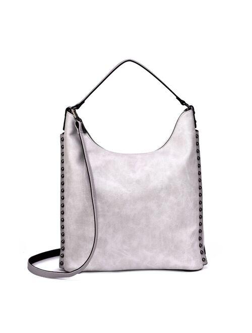 Mellow World Marion Studded Hobo Bag