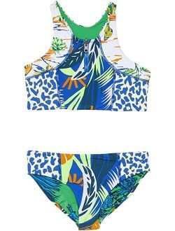 Blue Lagoon Basket Bikini Set (Little Kids/Big Kids)