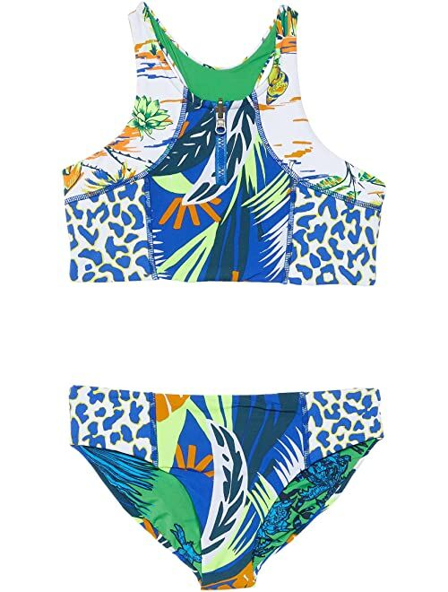 Maaji Blue Lagoon Basket Bikini Set (Little Kids/Big Kids)