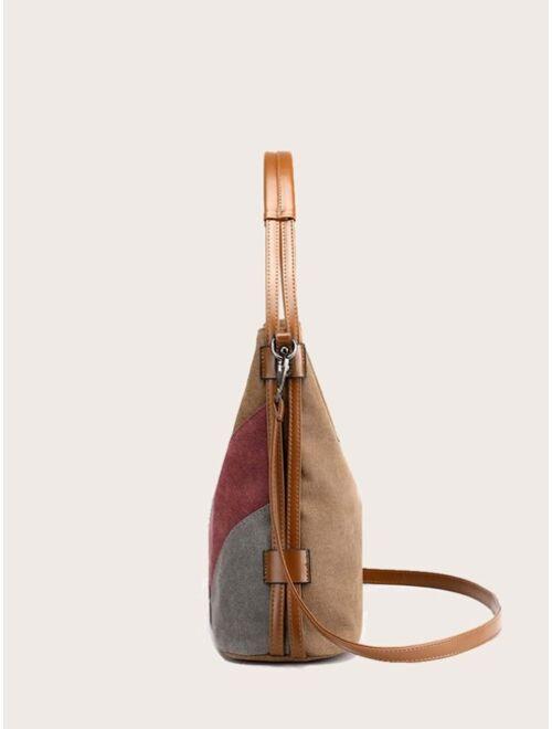 Women's Colorblock Shoulder Bag