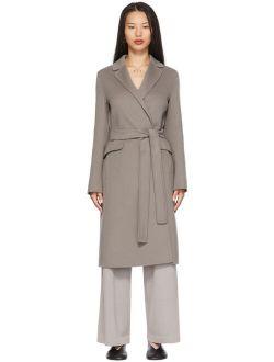 S Max Mara Grey Polly Coat
