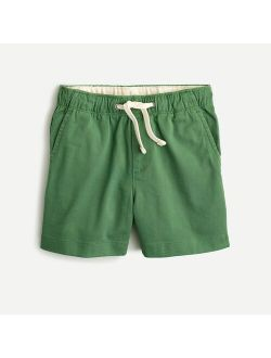 Boys' dock short in midweight stretch chino