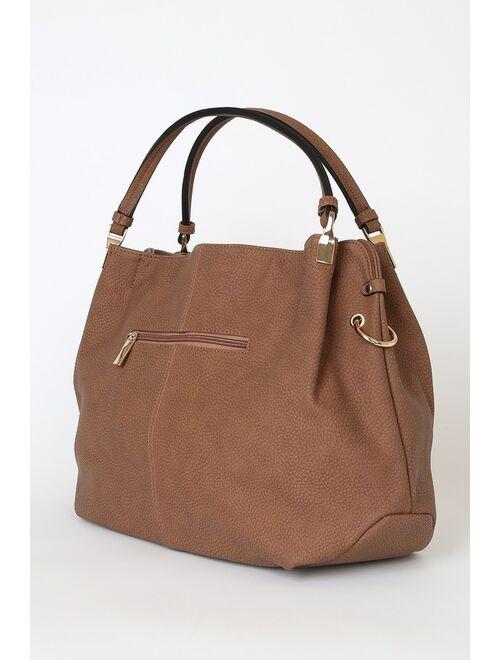 Ocean Cruise Cognac Handbag
