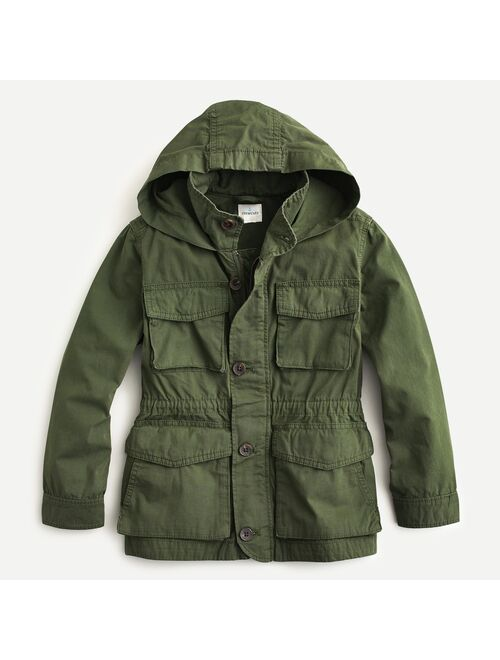J.Crew Boys' and Girls' garment-dyed M65 jacket and Coat