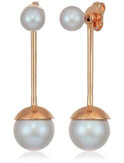 Sea Sultry Pearl Ear Jacket Earrings