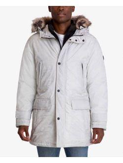 Men's Hooded Bib Snorkel Parka Coat, Created For Macy's