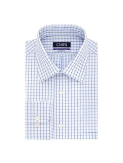 Big & Tall Chaps Regular-Fit Elite Performance Ultimate Non-Iron Stretch Button-down Dress Shirt