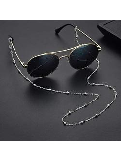 SAM & LORI Eyeglass Chain Strap Holder Eyewear Retainer Reading Women Necklace
