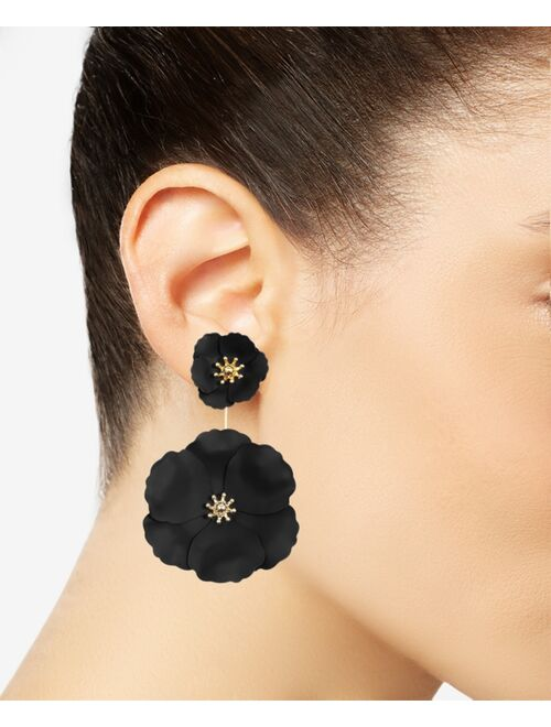 Zenzii Flower Power Drop Earrings