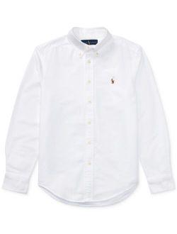 Big Boys Blake Long Sleeve Oxford Shirt