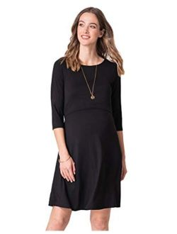 Seraphine Women's Maternity & Nursing Dresses – Twin Pack Black & Navy