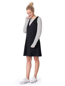 Seraphine Women's LA Nursing Kit - Nursing Dress, Nursing Top & Post Maternity Legging