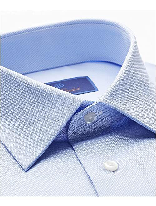 David Donahue Regular Fit Royal Oxford Dress Shirt