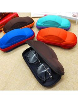 Children Car Shaped Glasses Case Cute Glasses Strage Bag Box Cases Kids Sunglasses Cases Automobile Styling Box