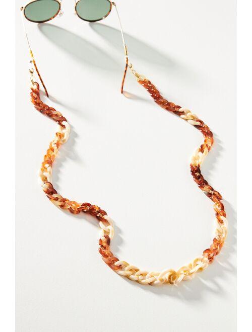 Anthropologie Nakamol Sunset Resin Link Sunglasses Chain