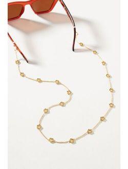 Lele Sadoughi Daisy Sunglasses Chain