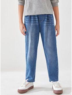 Boys Cat Whisker Straight Leg Jeans