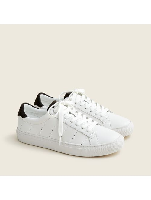 J.Crew Saturday sneakers with suede detail