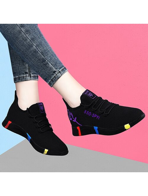 Tenis Feminino 2020 Hot Sale Summer New Style Outdoor Sneakers Comfortable Breathable Hollow Casual Shoes for Women Sports Shoes