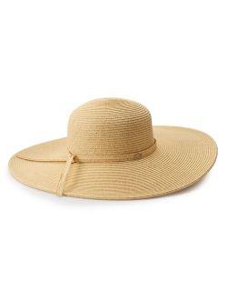 Women's Scala Wide Brim Sun Hat