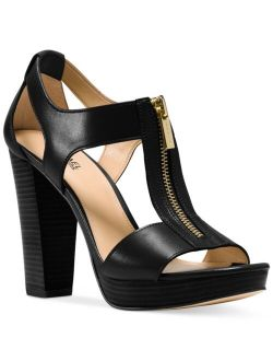 Berkley T-Strap Platform Dress Sandals