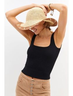 Whipstitched Sun Hat