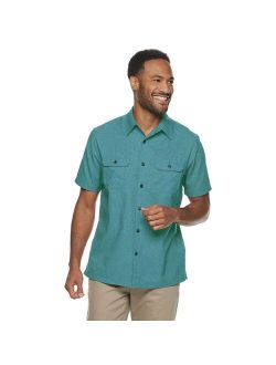 Barrow® Quick-dry Solid Button-down Shirt