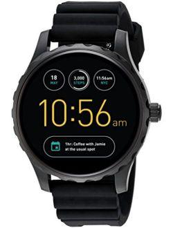 Q Marshal Gen 2 Black Silicone Touchscreen Smartwatch Ftw2107